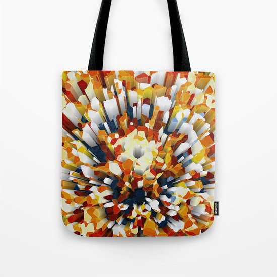 Colorful 3D Extrusion Tote Bag