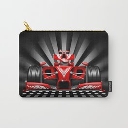 Formula 1 Red Race Car Carry-All Pouch