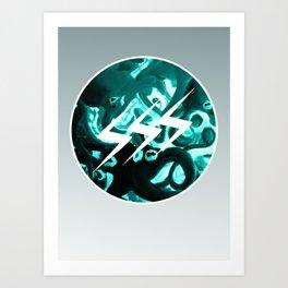 SSS Seizure Squid Studio // Logo // Tentacles Art Print
