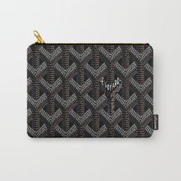 Goyard Black Carry-All Pouch