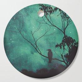 Evening Songbird Cutting Board