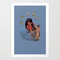 Play With Earth Art Print