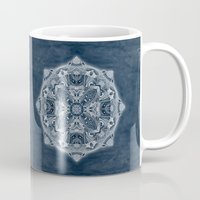 blueprint Mugs featuring Natural Blueprint by DebS Digs Photo Art