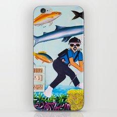 Deep Sea Fishing iPhone & iPod Skin