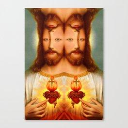 Lysergic Christ Canvas Print