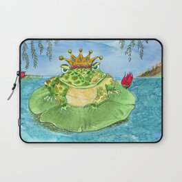 Frog King Laptop Sleeve