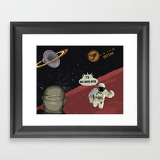 This Ain't No Planet of Sound Framed Art Print