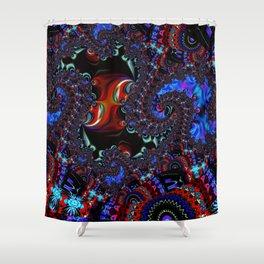 WarpRift A Shower Curtain