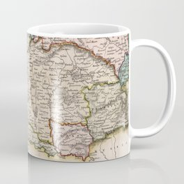 Vintage Map of Austria (1832) Coffee Mug