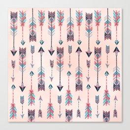 Patterned Arrows Canvas Print