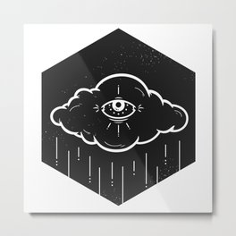 Eye Drops Metal Print
