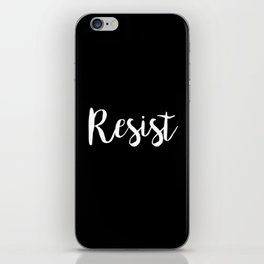 Resist iPhone Skin