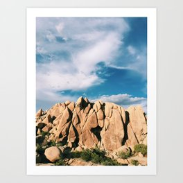 Joshua Tree, CA Art Print
