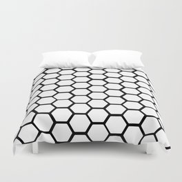 Honeycomb Duvet Cover