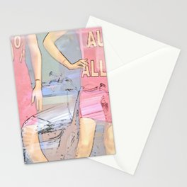 Sale in the clothing store Stationery Cards