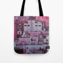 Fukuoka Pastel Tote Bag