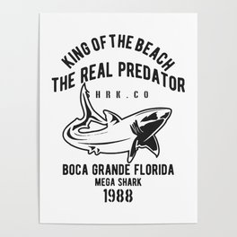 king of the beach the real predator Poster