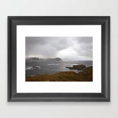 Lofoten Seaview Framed Art Print