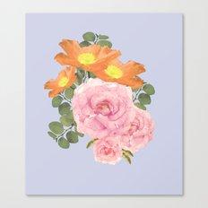 Summer Floral Canvas Print