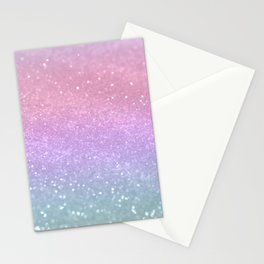 Unicorn Princess Glitter #1 (Photography) #pastel #decor #art #society6 Stationery Cards