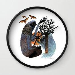 Big Foot's Demons Wall Clock