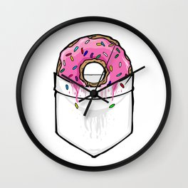 Pocket Collection: Donut Springfield Wall Clock