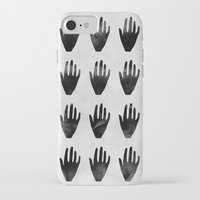 hands iPhone & iPod Cases featuring hands by namaki