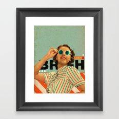 Bright Cinnamon Framed Art Print