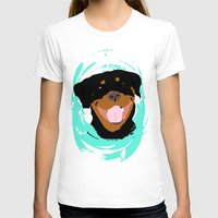 rottweiler T-shirts featuring Rottweiler graphic on Mint by Moni & Dog