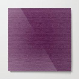 Wood Violet Wood Grain Color Accent Metal Print