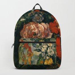 """Paul Cezanne """"Bouquet of Flowers"""" Backpack"""