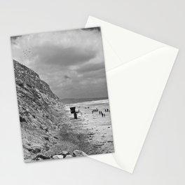 Torrey Pines, San Diego, California - Tower 1 - B&W Stationery Cards