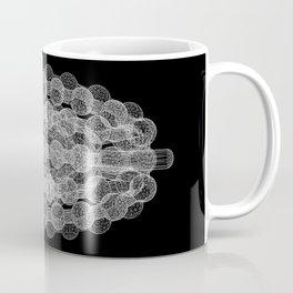 GEOMETRIC NATURE: COULOMB CRYSTAL b/w Coffee Mug