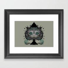 Cat of Spades Framed Art Print