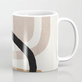 Abstract shapes art, Mid century modern art Coffee Mug