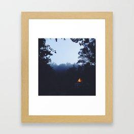 A Frame Living  Framed Art Print