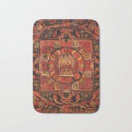 Mandala of Amogapasha Bath Mat