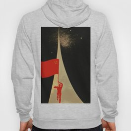 all the way up to the stars - soviet union propaganda Hoody