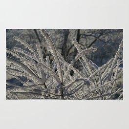 Ice Crystals Rug