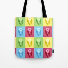 Boston Terrier Thoughts Tote Bag