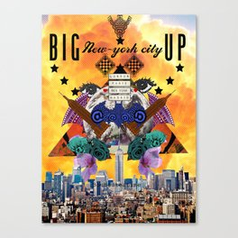 BIG APPLE CITY  Canvas Print