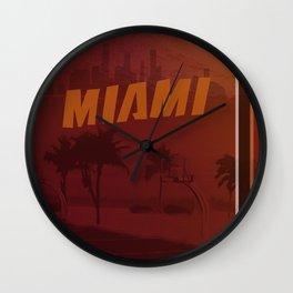 Heat Poster Wall Clock