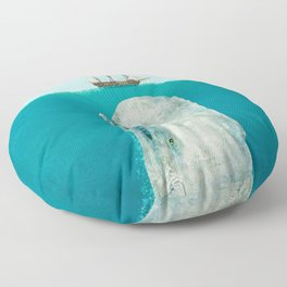The Whale Floor Pillow