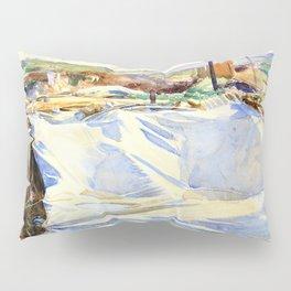 A Tarpaulin over a Dug-out, Ransart - Digital Remastered Edition Pillow Sham