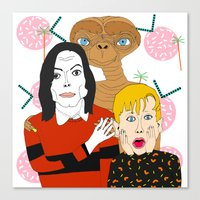 home alone Canvas Prints featuring Home alone? by Elena Éper