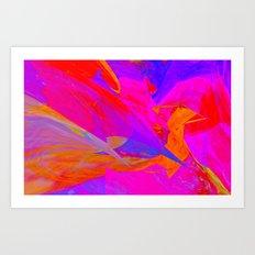 Flying High By Sherri Of Palm Spring Art Print