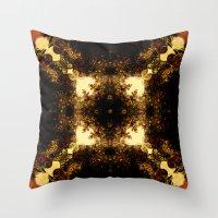 pagan Throw Pillows featuring Pagan  sun  by DIVIDUS