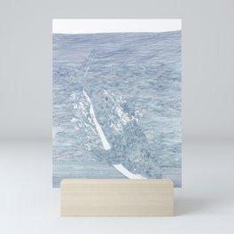 whale fall Mini Art Print