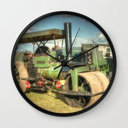 Roller Relaxation Wall Clock