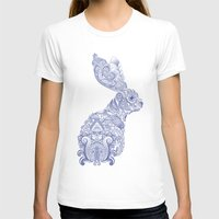 henna T-shirts featuring Henna Rabbit by Dezi